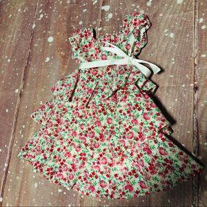 Ralph Lauren Bow Tie Wrap Floral Baby Dress